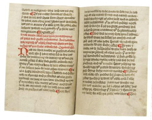manuscript page